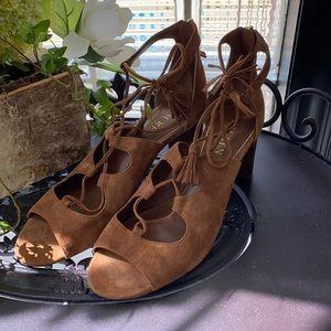 2/$50 - Ralph Lauren Brown Suede Sandals